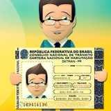 orçamento carteira de motorista definitiva Vila Cruzeiro